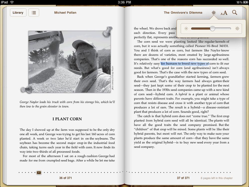 Tak wygląda iBooks