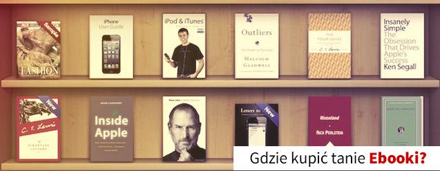 Tanie ebooki w polskich księgarniach