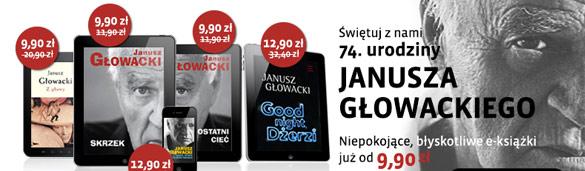 Janusz Głowacki ebooki