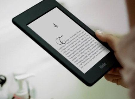 Nowy Kindle w reklamie