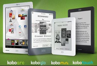 Nowa rodzina e-readerów Kobo