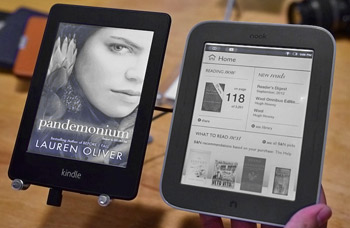 Kindle Paperwhite i Nook GlowLight