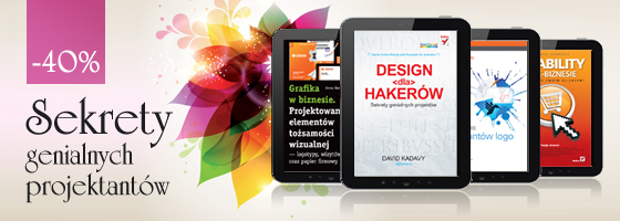Ebooki o projektowaniu na ebookpoint.pl